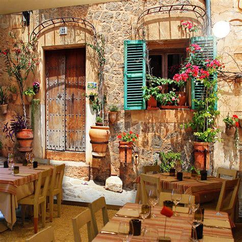 Photo Paper Kertas Foto A3 Anti Air Tebal Murah Untuk Menu List gaya eropa kota kecil vintage wallpaper restaurant cafe