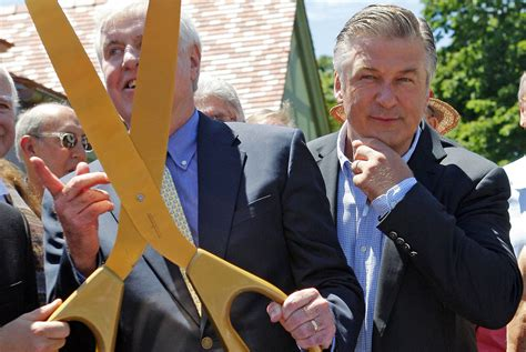 Alec Baldwin Pays For Soldiers College Tuition by Alec Baldwin Fittingly Gets Lecture Room Named After Him