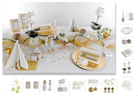 tafel deko 14 mustertisch in wei 223 gold tischdeko kommunion