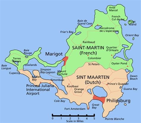 island of saints a caribbean island of saint martin full size