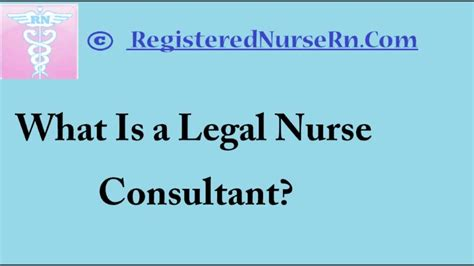legal nurse consultant salary and job description of