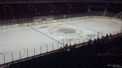 United Center Section 203 Chicago Blackhawks