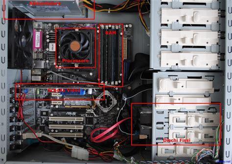 componenti interni computer informatica per principianti 2 il computer fribby net