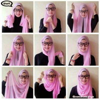 Baju Bodo Pakai Jilbab 8 cara menggunakan modis yang simple cepat kilat rp 50rb model baju muslimah modern