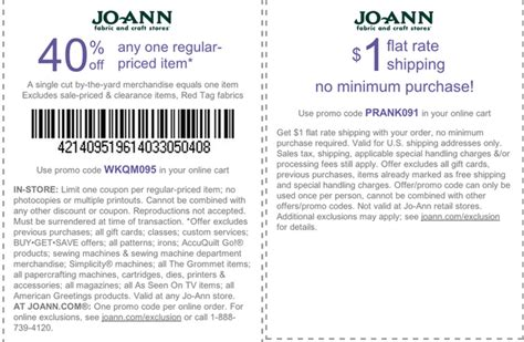 printable joann fabric coupons 2015 joann fabrics printable coupons september 2015 printable