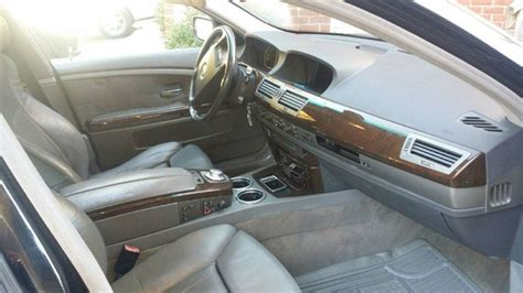 Bmw 7 Series 2003 Interior by 2003 Bmw 7 Series Pictures Cargurus