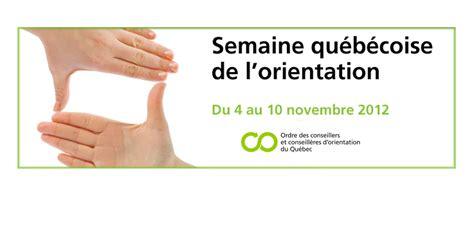Calendrier Scolaire 2014 Commission Scolaire Victorin Semaine Qu 233 B 233 Coise De L Orientation Du 4 Au 10 Novembre
