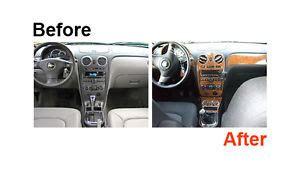 Suzuki Sidekick Interior Parts Dash Kit Trim For Geo Tracker Suzuki Sidekick 92 95 Wood