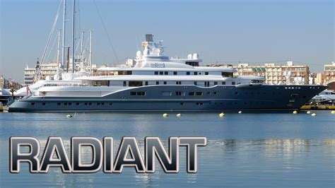 radiant yacht radiant superyacht photos marine vessel traffic