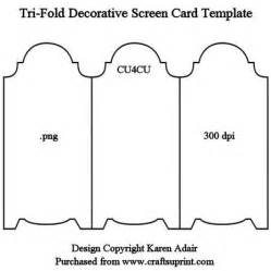 folded greeting card template 25 best ideas about screen cards on tri fold