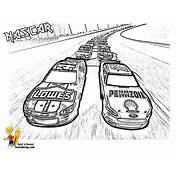 NASCAR Race Car Coloring Pages Together With Horse Brushes