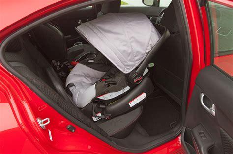 2013 Honda Civic Si Backseat Britax Infant Seat Photo