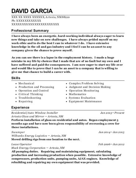 Heavy Operator Sle Resume by Machine And Equipment Operator Resume Exle With Machine Operator Resume Sle