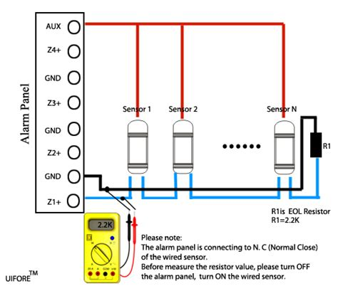wiring diagram for pir security sensor 38 wiring diagram