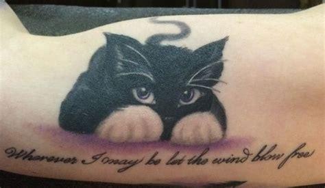 Black Lovely Cat lovely playful black cat cat tattoos