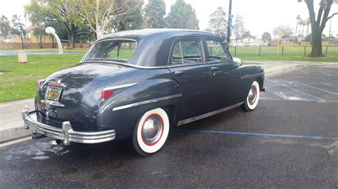 the americano plymouth 1949 plymouth special deluxe 4 door v6 6v classic vintage