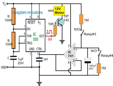 how to make a rc helicopter circuit diagram circuit and