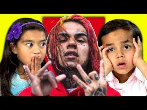 6ix9ine child kids react to 6ix9ine kooda youtube
