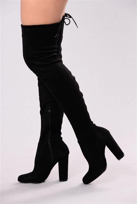 pretty thigh high boots pretty in thigh high boots black