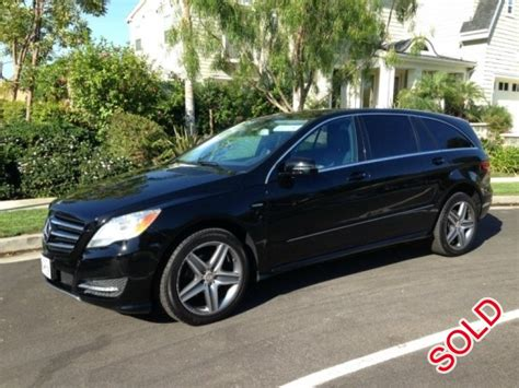 Mercedes R350 For Sale by Used 2012 Mercedes R350 Sedan Limo Los Angeles