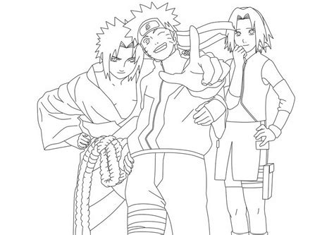 anime coloring pages naruto free naruto naruto anime coloring pages