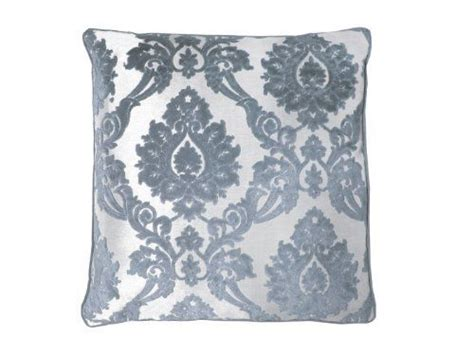 rodeo home alessandra pillow 24 x 24 silver by rodeo home