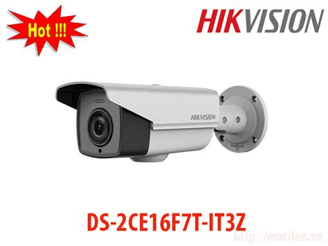 Hikvision Ds 2ce16f7t It3 36mm hikvision ds 2ce16f7t it3z thay đổi ti 234 u cự ngo 224 i trời