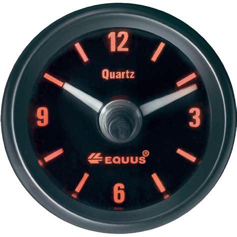 lada led 12 volt equus 656789 quartz clock 12v from conrad
