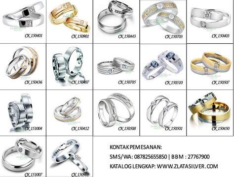 Cincin Nikah Perak Pasangan Tunangan Kawin Terbaru 155 gambar desain model cincin kawin terbaru zlata silver