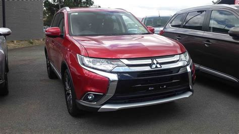mitsubishi outlander interior 2017 mitsubishi outlander in depth tour interior exterior