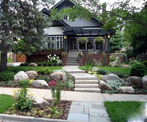 Craftsman Bungalow Traditional Exterior Minneapolis Bungalow Garden Design