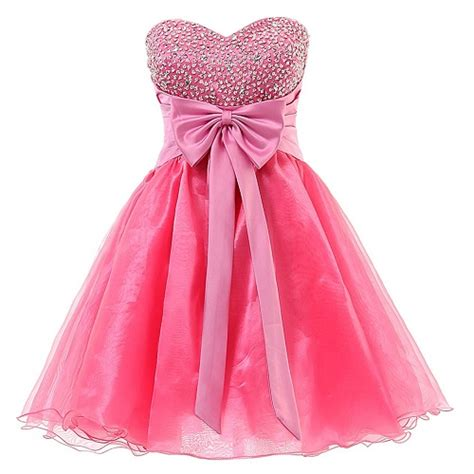 Cute trendy short homecoming dresses with bow 2017