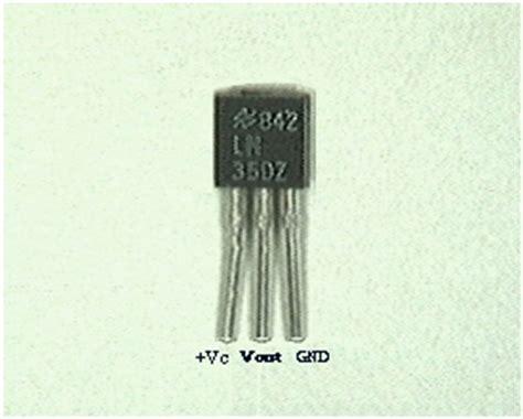 transistor lm35 heat sensor using lm35 and arduino build circuit