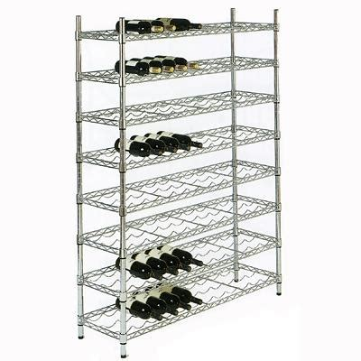 wine rack for shelf focus group ffws1436ch wine rack shelf 36 quot w x 14 quot d wine racks zesco com