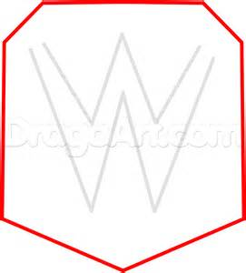 how to draw wwe championship belt step by step sports