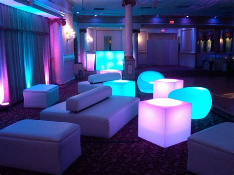 lounge seating for a bat mitzvah quinces sweet sixteen