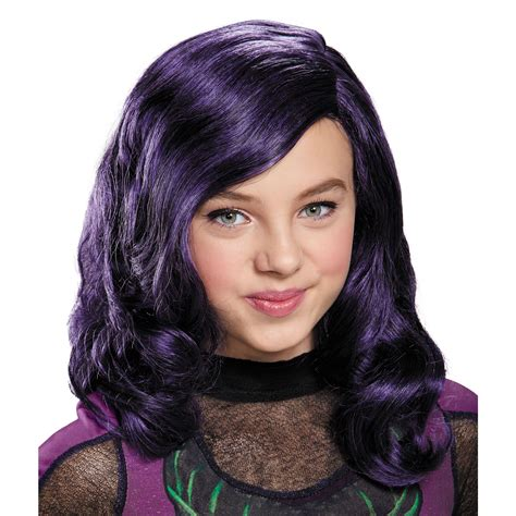 mal hair buy disney s descendants mal wig for girls