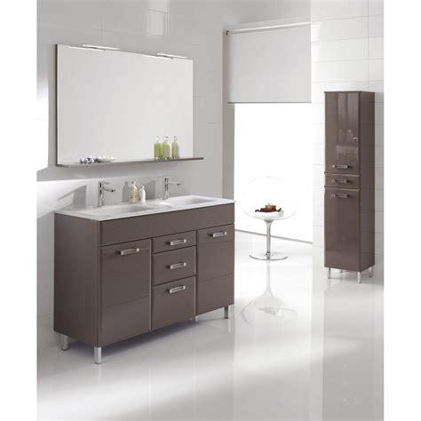 Délicieux Meuble Salle De Bain 80 Cm Leroy Merlin #2: meuble-de-salle-de-bains-opale-taupe.jpg