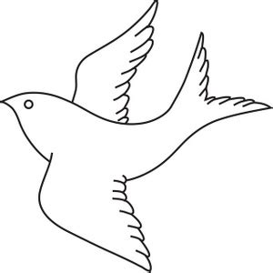 bird clipart image bird flight outline drawing coloring clipart clipart