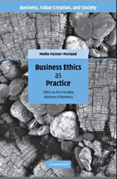 Business Ethics Book For Mba Free by Book Business Ethics As Practice Books For Accontants