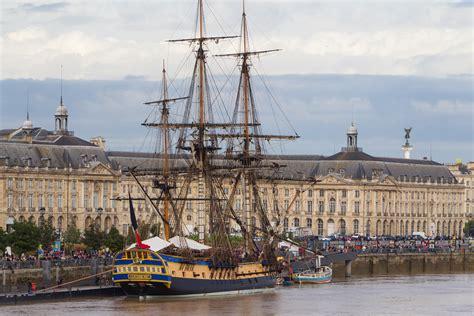 le bateau hermione a bordeaux l evasion des sens l hermione 224 bordeaux