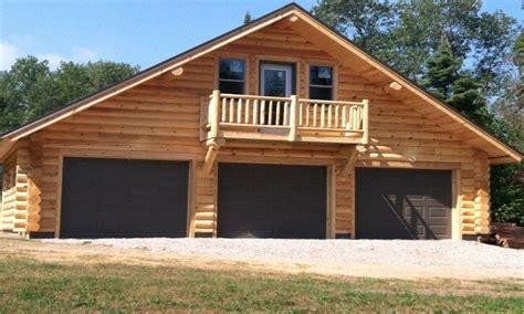 Garage Cabin Plans by Log Garage With Apartment Plans Log Cabin Garage Kits