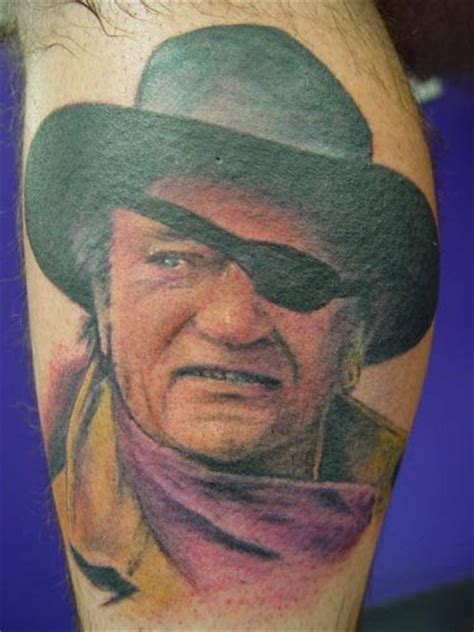 john wayne tattoo tattoos pinterest