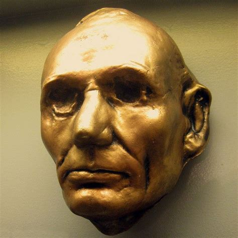 abraham lincoln biography died abe lincoln s life mask post mortem pinterest masks