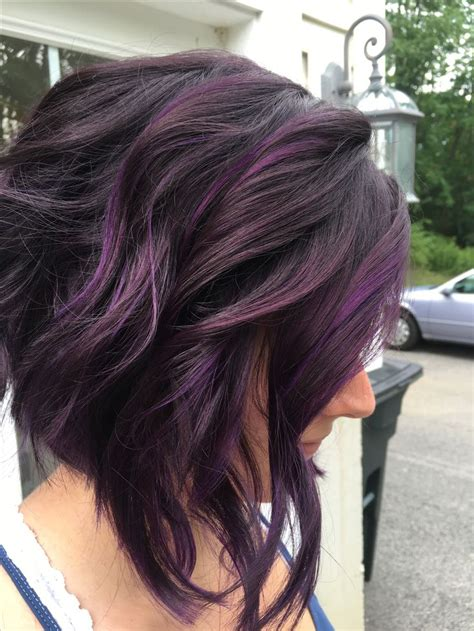 hairstyles with lavender highlights best 25 purple highlights ideas on pinterest purple