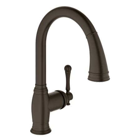 grohe nickel pull down faucet nickel grohe pull down faucet grohe 33870en0 brushed nickel bridgeford pull down spray