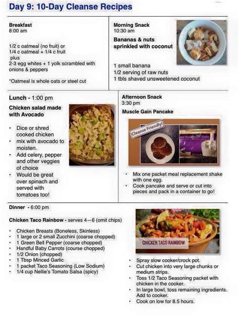 10 Day Detox Diet Plan Recipes by 25 Best Ideas About Advocare 10 Day Cleanse On