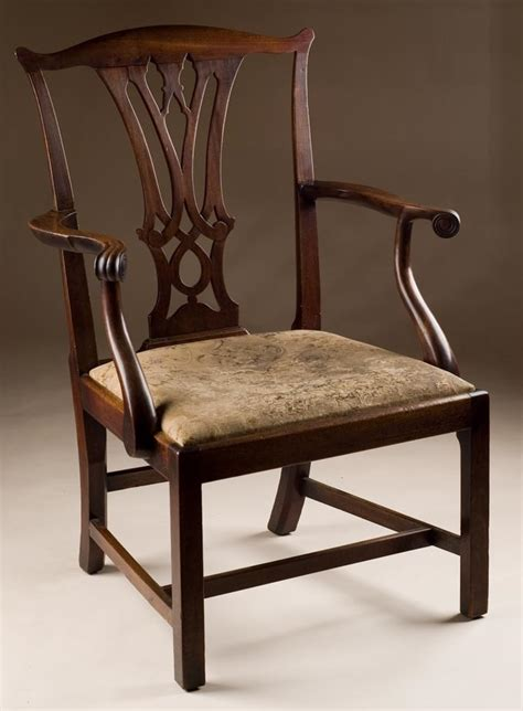 Chippendale Chairs by Antique Mahogany Chippendale Chair