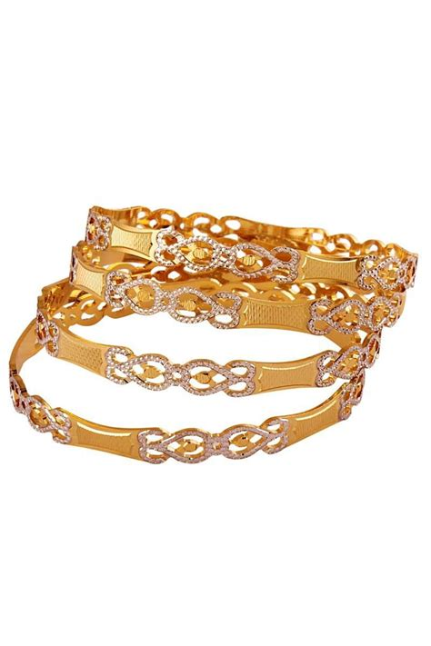 Bangle Gold Plated by Gold Plated Designer Bangle Fashion Style