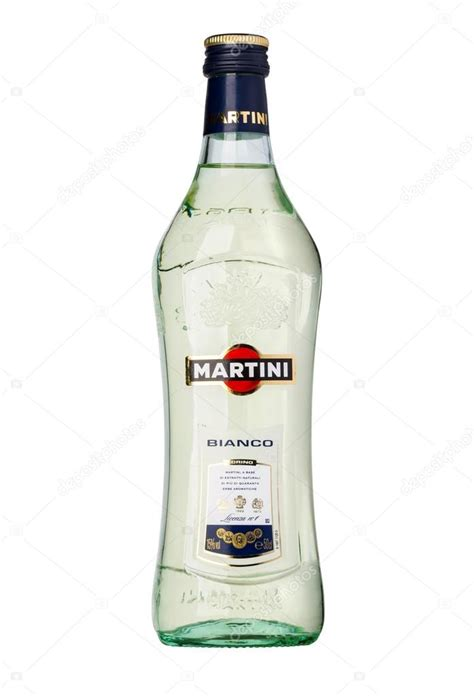 martini bottle martini bottle on white stock editorial photo
